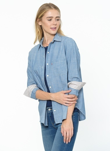 Levi's® Jean Gömlek İndigo
